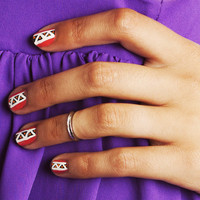 SALE- Bohemian Hippie Set of 5 Mid Finger/ Knuckle Midi Rings