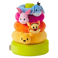Hallmark itty bittys Winnie the Pooh Baby Stuffed Animal Stacker