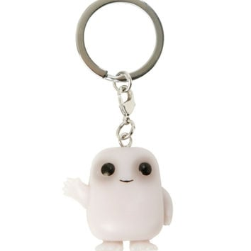 Funko Doctor Who Pocket Pop! Adipose Key Chain Glow-In-The-Dark Hot Topic Exclusive