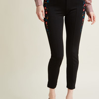 I Admire Your Quirk Ponte Pants in Folksy