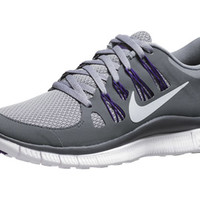 Nike Free 5.0+ Women's Shoes Stealth/Grey/Purple