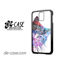 Aztec Cat In Rainbow Color For Samsung Galaxy S5 Case Phone Case Gift Present