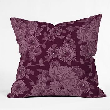 Sabine Reinhart Nocturnal 2 Throw Pillow