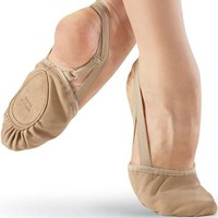Canvas Half-Sole Lyrical Shoe - Body Wrappers