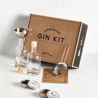 Handmade & DIY Spirit of the Good Times Homemade Gin Kit by ModCloth