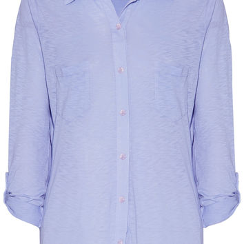 Splendid Supima cotton and Micro Modal-blend shirt – 56% at THE OUTNET.COM