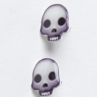 Skull Emoji Earrings