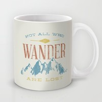 Not All who Wander are Lost Mug by Zeke Tucker | Society6