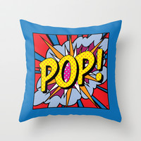 POP Art #4 Throw Pillow by Gary Grayson