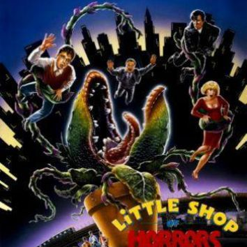 Little Shop Of Horrors movie poster Small Metal Print 8in x 12in