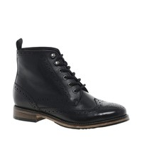 ASOS APOSTLE Leather Ankle Boots