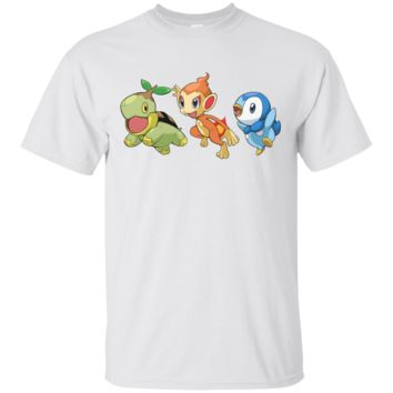 POKEMON - 20TH ANNIVERSARY SINNOH STARTERS T SHIRT