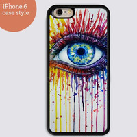 iphone 6 cover,watercolor Eye case iphone 6 plus,Feather IPhone 4,4s case,color IPhone 5s,vivid IPhone 5c,IPhone 5 case Waterproof 260