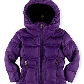 Ralph Lauren Childrenswear Girls 2-6x Channel Quilted Jacket