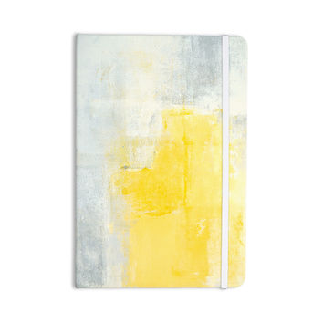 "CarolLynn Tice ""Stability"" Yellow White Everything Notebook"