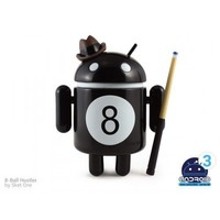 Android Mini Series 3 8 Ball Hustler by Sket One 1/16 Figure