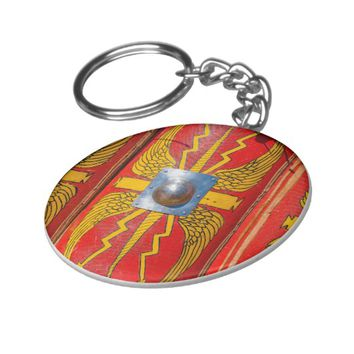 Roman Military Shield - Scutum Keychain