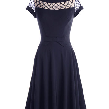 NEW: Alika Dress in Navy - $149.95 : Indie, Retro, Party, Vintage, Plus Size, Convertible, Cocktail Dresses in Canada