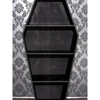 Koffin's Dark Decor | Coffin Shelf - Tragic Beautiful buy online from Australia