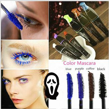 Beautiful Halloween Mascara Flawless Transplanting Gel Makeup Set Curler Eyelash Waterproof Mascara