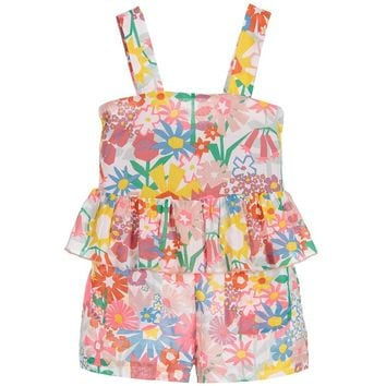 Stella McCartney Girls Floral Romper