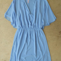 Swept in Periwinkle Dress : Vintage Inspired Clothing & Affordable Dresses, deloom | Modern. Vintage. Crafted.