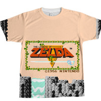 Legend of Zelda Nes Shirt