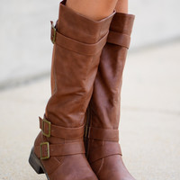 The Olivia Boot, Tan