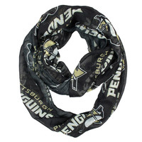 Pittsburgh Penguins NHL Sheer Infinity Scarf