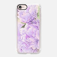 Lavender Peonies iPhone 7 Case by Lisa Argyropoulos | Casetify