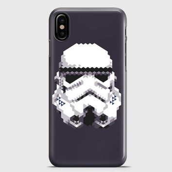 Stormtrooper Helmet iPhone X Case