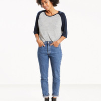 501R Altered Skinny Jeans
