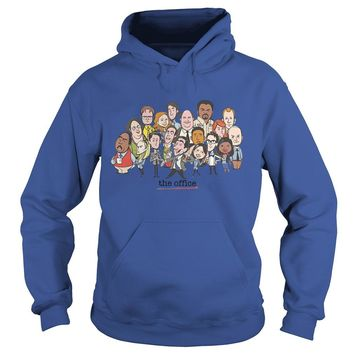 The office TV show chibi shirt Hoodie