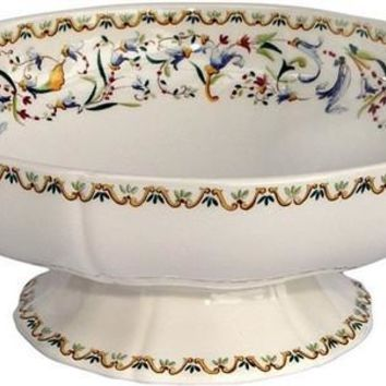GIEN Toscana Footed Fruit Bowl