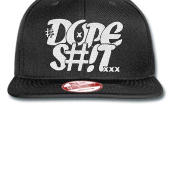 dope shit Snapback,Hat - New Era Flat Bill Snapback Cap