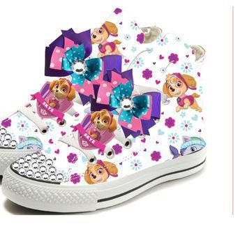 paw patrol birthday party shoe for girls converse