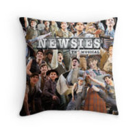 Newsies on Broadway photo collage by gobbythefansie