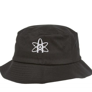 american ateist embroidery Bucket Hat
