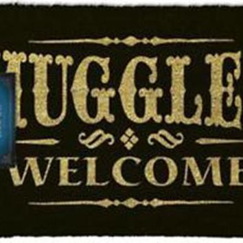 Harry Potter | Muggles Welcome DOOR MAT