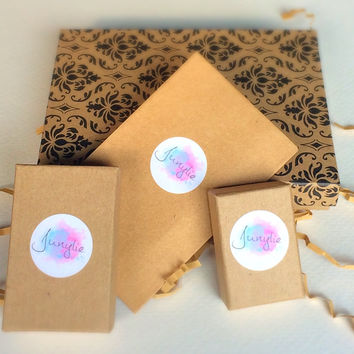 Suprise Box / Subscription Box from Junylie / body jewelry / rings / stud earrings / temporary tattoo