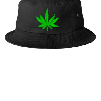MARIJUANA LEAF Bucket Hat - Bucket Hat