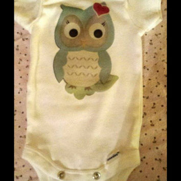 Owl Always Love you tutu set. Girls nb-3t