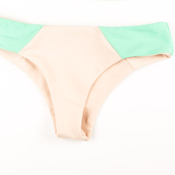 Solo Bottom- Bondi Mint/ Nude