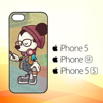 Hipster Mickey Mouse L1579  iPhone 5|5S|SE Case
