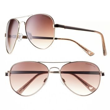 Juicy Couture Live It Up Aviator Sunglasses - Women