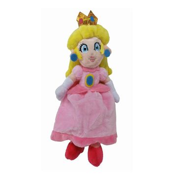 "Super Mario party nes switch New  Bros Sitting Peach Princess Pink Plush Doll Kawaii 9"" Animal Cartoon Brinquedos Kids Toys Gift Juguetes Tracking AT_80_8"
