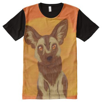 African Wild Dog All-Over-Print T-Shirt