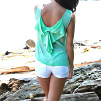 Bows and Curls Top