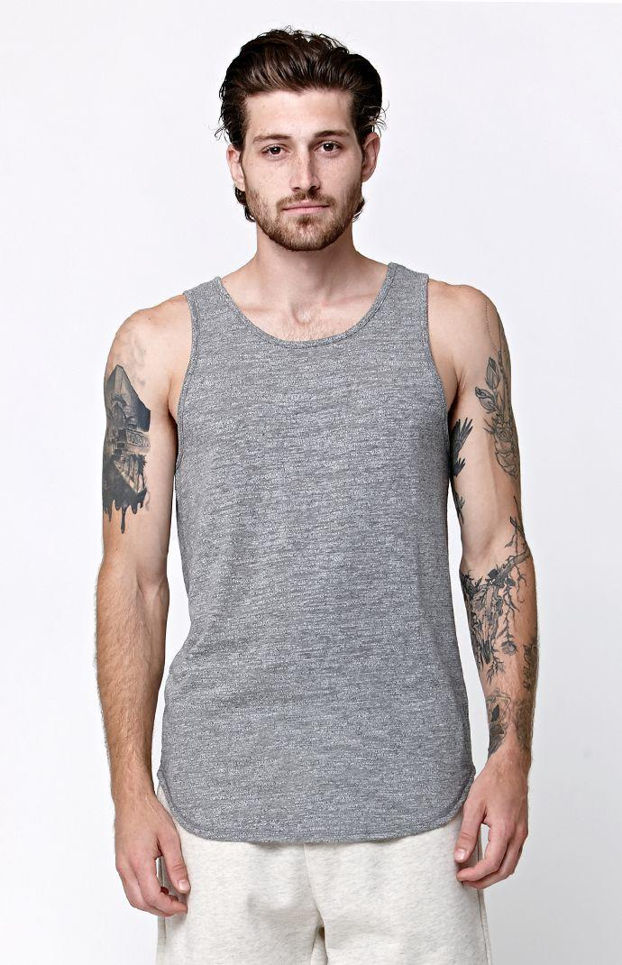 23ab66fca871bb On The Byas Haze Scallop Tank Top - Mens from PacSun