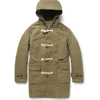 PRODUCT - Neighborhood - Washed-Cotton Duffle Coat - 387031 | MR PORTER